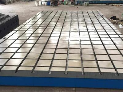 T型槽平台-T型槽装配平台-铸铁T型槽平台