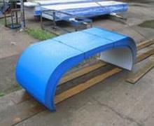 输送机械防雨罩-彩钢输送机械防雨罩-输送设备防雨罩