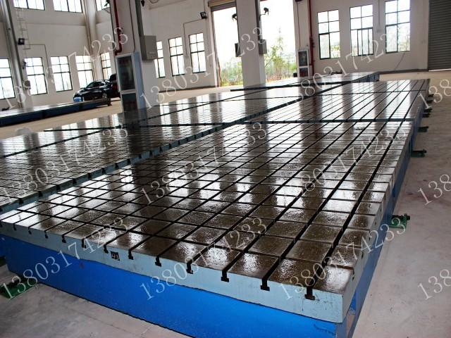 铸铁焊接平台图片